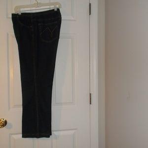 Just My Size Blue Denim Boot Cut Jeans